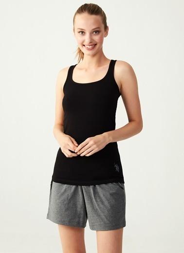 U.S. Polo Assn. Pijama Takım Siyah